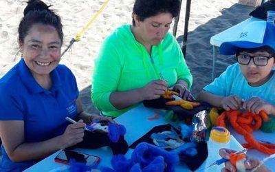Continúan talleres y actividades de verano impartidas por el Senda Previene Pichilemu