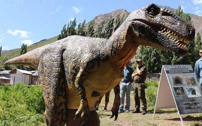 Dinosaurios en Termas del Flaco