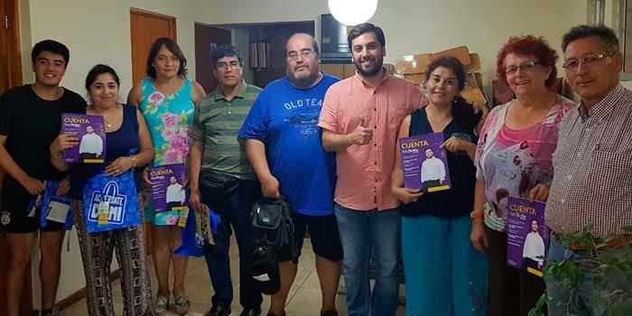 Diputado Raúl Soto inicia mesa de trabajo con dirigentes sociales del sector poniente de Rancagua