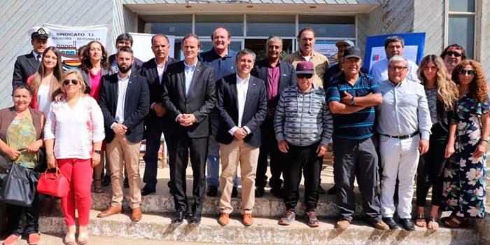 Entrega de concesión por 25 años de la Casa del Pescador de Pichilemu