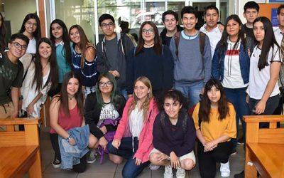 Estudiantes de academia de verano de la UOH visitan Juzgado de Garantía de Rancagua