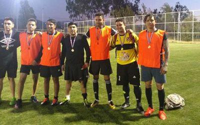 Exitoso primer campeonato de fútbol intercultural