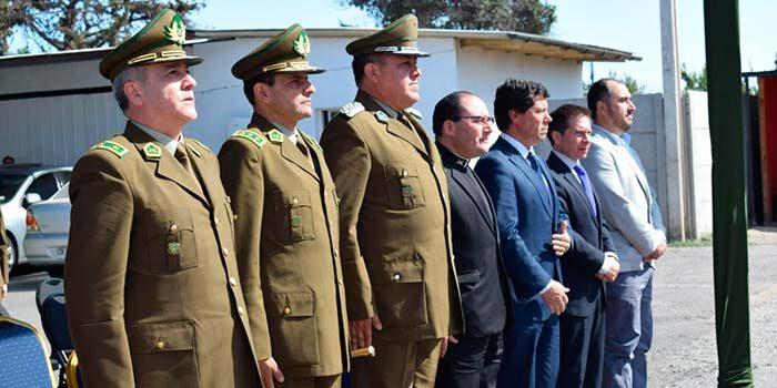 General Patricio Figueroa asume como nuevo jefe de Carabineros en OHiggins