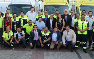 Gobierno regional realiza histórica entrega de ambulancias