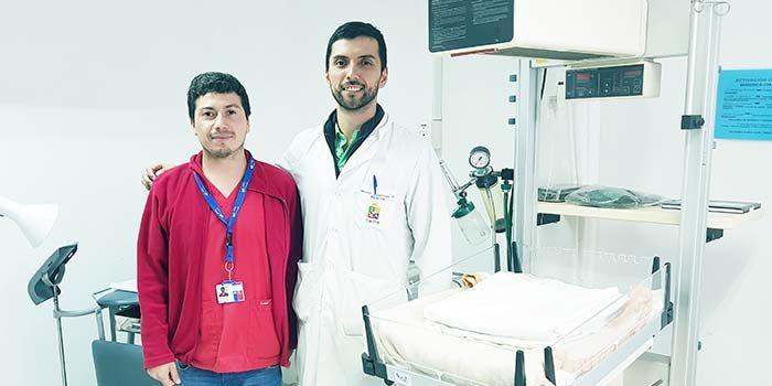 Hospital de Litueche asiste con éxito parto de bebe prematuro