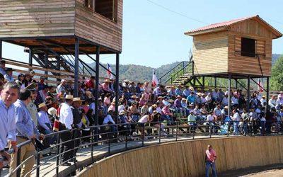 Inauguran nueva Medialuna en la comuna de Las Cabras