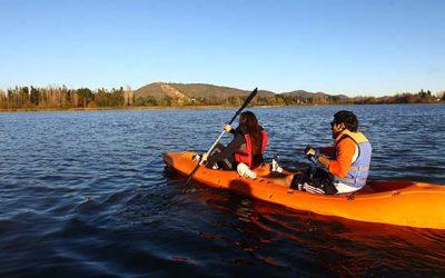 Lago Rapel Invita a disfrutar deportes náuticos y complacerse con la naturaleza estas vacaciones