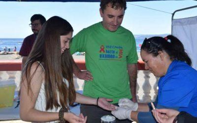 Los test rápidos de VIH se toman las playas de la Región