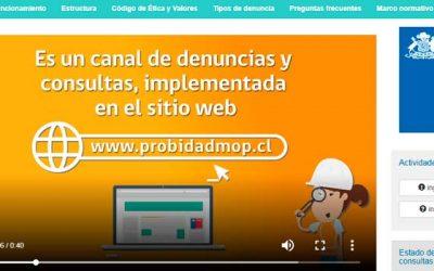 MOP lanza plataforma de probidad