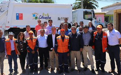 Municipalidad de Litueche recibe nuevo camión recolector