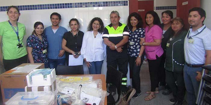 Municipio de Palmilla entrega equipamiento médico a posta de San José del Carmen del Huique