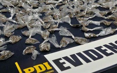 PDI detiene a extranjero que utilizaba el lugar de trabajo para comercializar drogas