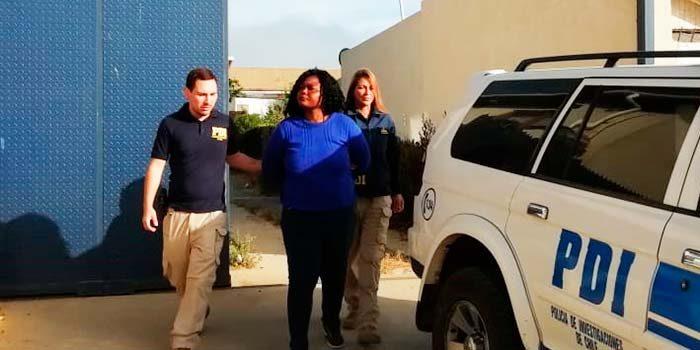 PDI detiene mujer haitiana por homicidio frustrado contra su pareja