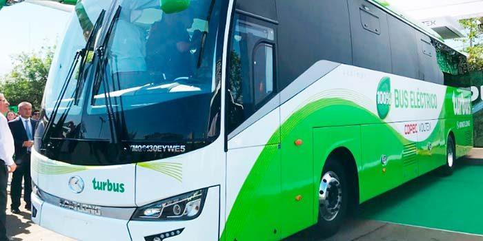 Presentan primer bus eléctrico interurbano del país, que circulará entre Santiago y Rancagua