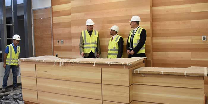 Presidente de la corte de apelaciones de Rancagua informó de los avances en obras de construcción del nuevo centro de justicia