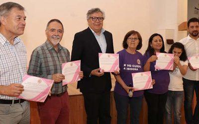 Programa Yo cuido Rancagua capacita a cuidadores de pacientes postrados