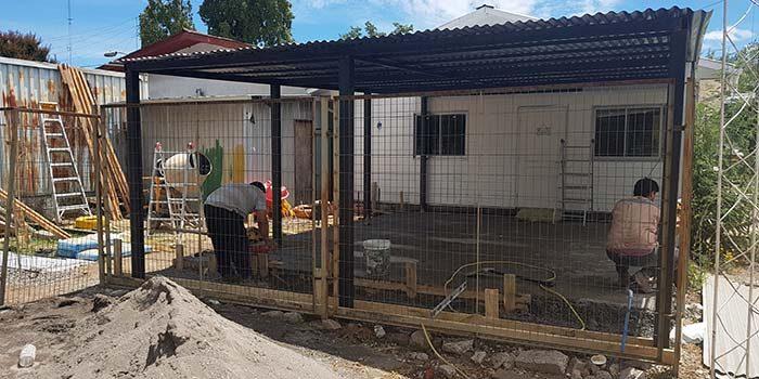 Remodelación en jardín infantil de Hospital Litueche contará con nueva infraestructura para disfrutar al aire libre
