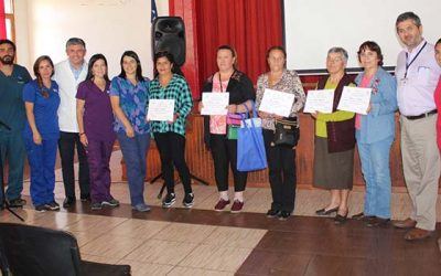 Salud Machalí efectúa taller Cuidarse para cuidar