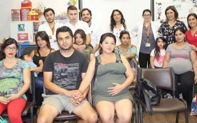 Salud Machalí invita a las usuarias locales y sus parejas a capacitarse en los talleres prenatales