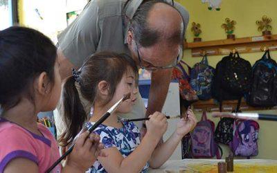 Seremi de Educación recorre jardín infantil Creando sueños de Mostazal