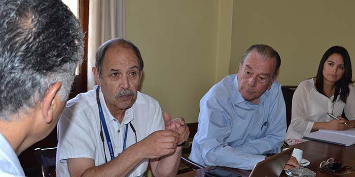 Seremi de educación se reúne con alcalde de San Vicente para tratar alcances del Proyecto de Ley Admisión Justa