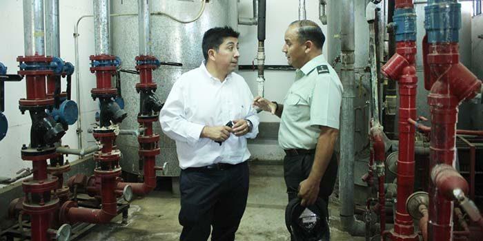 Seremi de energía visita cárcel de Rancagua para evaluar proyecto de eficiencia energética en recinto penitenciario