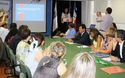 Subsecretaria Bown e Intendente Masferrer encabezan lanzamiento de la Mesa Regional de la Niñez