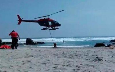 Turista rancagüino graba tragedia en el Quisco
