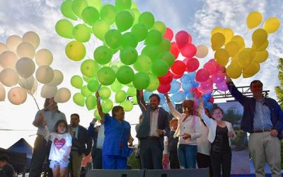 """Un gran hito de cierre vivió el Barrio Las Américas de Graneros gracias al Programa """"Quiero mi Barrio"""" del Minvu"""