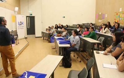 UOH y Mineduc realizan jornada de actualización metodológica para docentes de inglés en la región