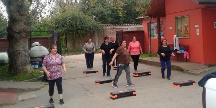 Usuarios del Programa Cardiovascular participan de jornada recreativa