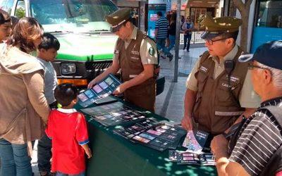 Carabineros entrega recomendaciones para no ser víctimas de delitos por billetes falsos