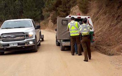 Conaf detecta quema ilegal en Pichilemu que pudo provocar un incendio forestal