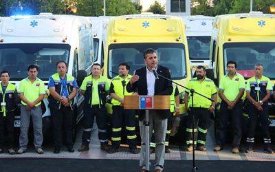Cuatro comunas recibirán ambulancias gracias a convenio del gobierno regional con la MurOH