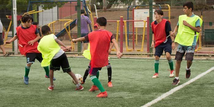 El fútbol unió a los barrios de la región gracias al Programa Quiero mi barrio del Minvu O'Higgins