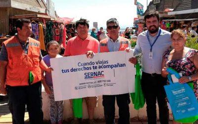 En Pichilemu, Sernac recuerda sus derechos en vacaciones de verano