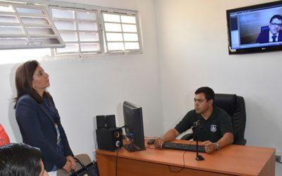 Firman protocolo para lectura de sentencias por videoconferencia