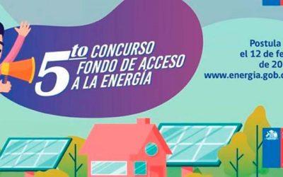 Fondo de acceso a la energía cierra sus postulaciones el 12 de febrero