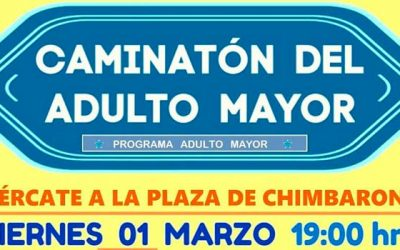 Hospital de Mercedes invita a participar de la Caminatón del adulto mayor