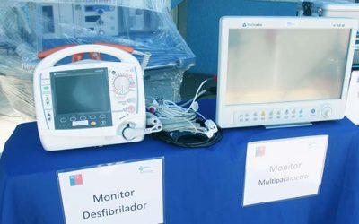 Hospital de Rengo recibe equipamiento clínico y una ambulancia