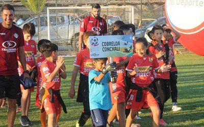 Inauguran campeonato internacional de fútbol infantil en Pumanque