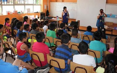 Integrantes de la Escuela Municipal de Verano participan en diversos talleres preventivos impartidos por Salud Machalí