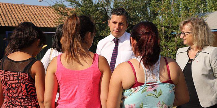 Intendente destacó ley que aumenta subvención para niños que residen en centros de Sename