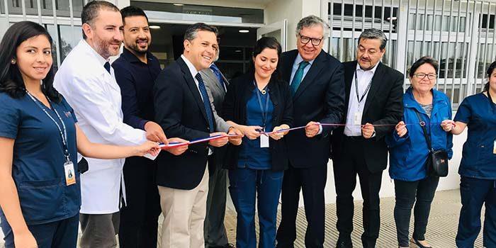 Intendente inaugura nuevo SAR Enrique Dintrans de Rancagua