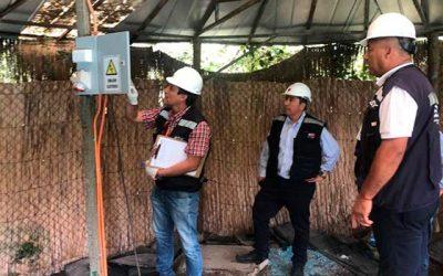 Intensifican fiscalizaciones a instalaciones eléctricas de camping y centros recreacionales