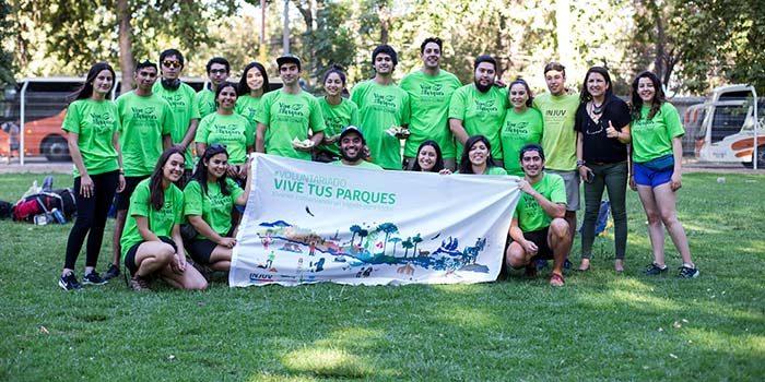 Jóvenes de la Región iniciaron voluntariado en Vive tus parques 2019