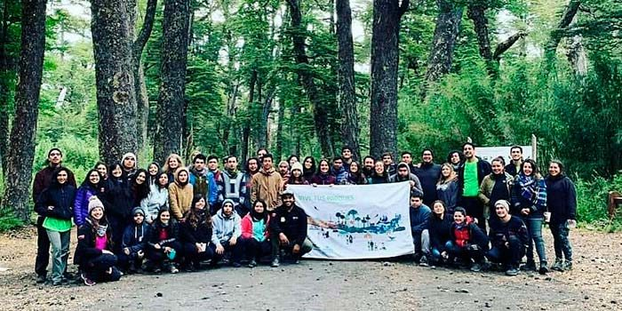 Jóvenes de la Región realizaron trabajos de mantención y mejoramiento