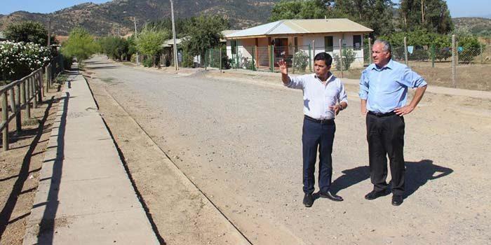 MOP O'Higgins potencia rol social con sus obras de caminos rurales