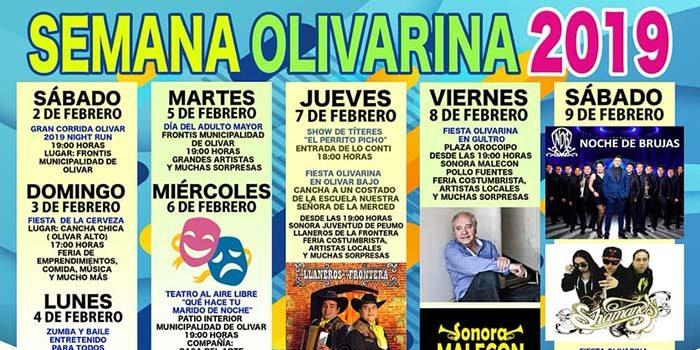 Noche de Brujas y Shamanes cierran semana olivarina 2019