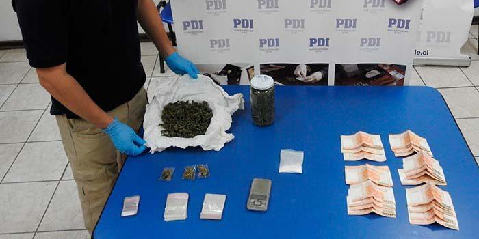 Padre e hijo son detenidos por microtráfico de drogas en Requínoa